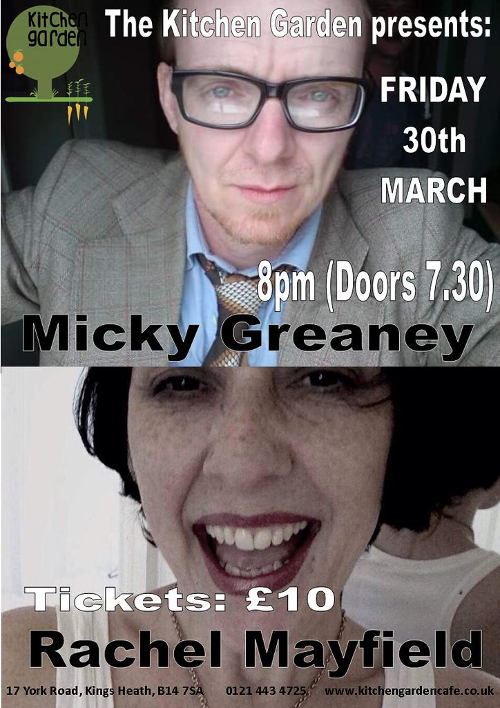 Micky Greaney And Rachel Mayfield Friday 30th March 2018 Flickr