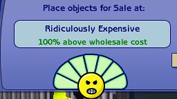 The Sims 2 Open For Business Ridiculously Very Expensive Aşırı Pahalı Uçuk Fiyat