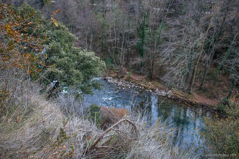 Río Llobregat cerca del Molí de Pedret