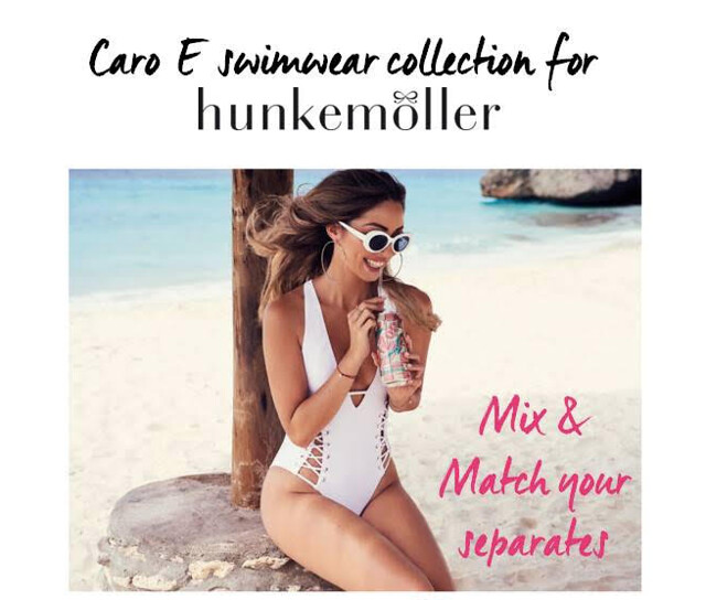 Caro E swimwear collection for Hunkemöller visual