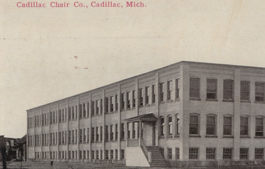 NW Cadillac Wexford MI The CADILLAC CHAIR COMPANY And Thei Flickr - Cadillac wexford