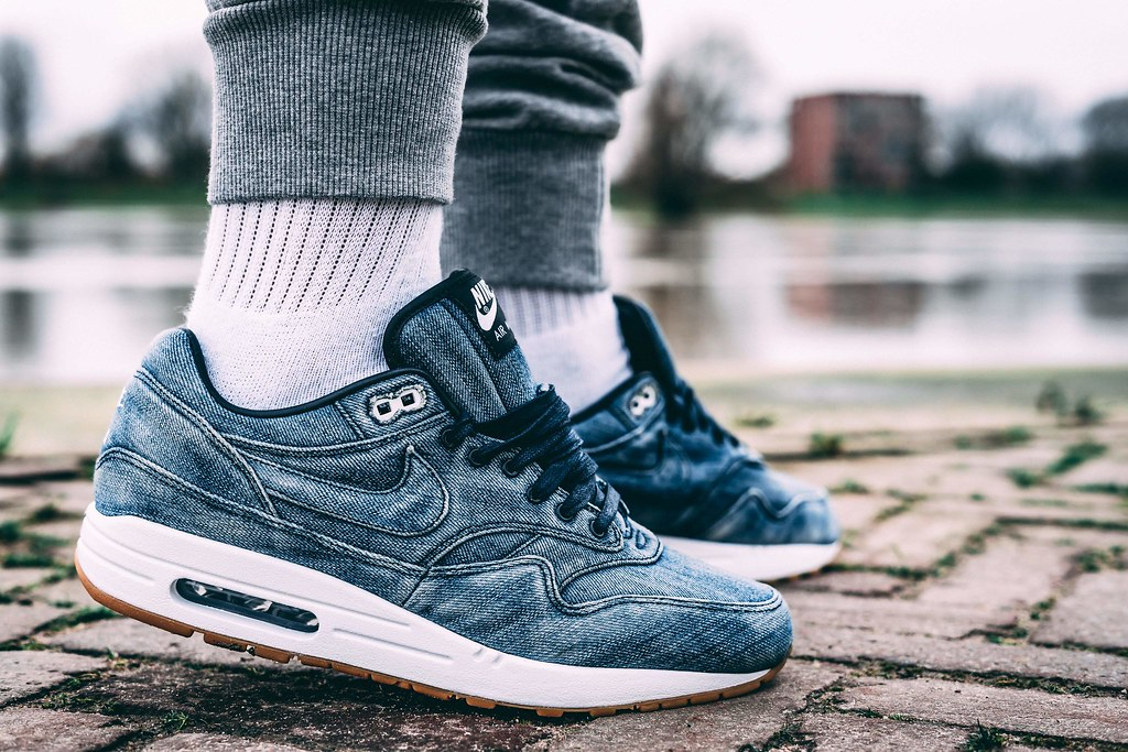 new styles 56216 a7504 ... best price nike air max 1 id denim 2017 by ymor80 eae97 6ff7d