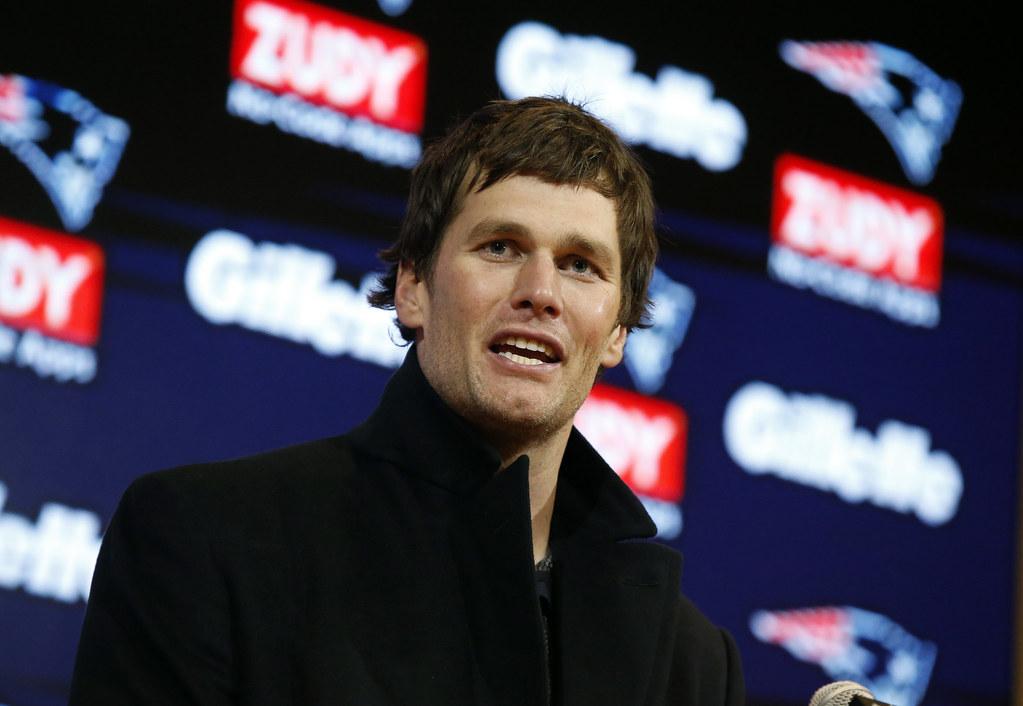Tom Brady。(達志影像)