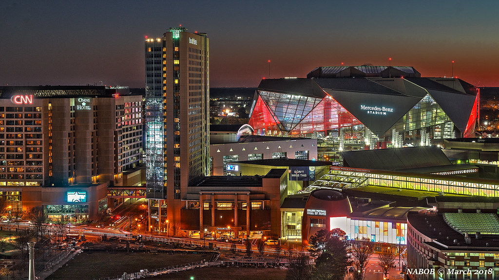 ... Nabobswims Atlanta, GA: Mercedes Benz Stadium | By Nabobswims