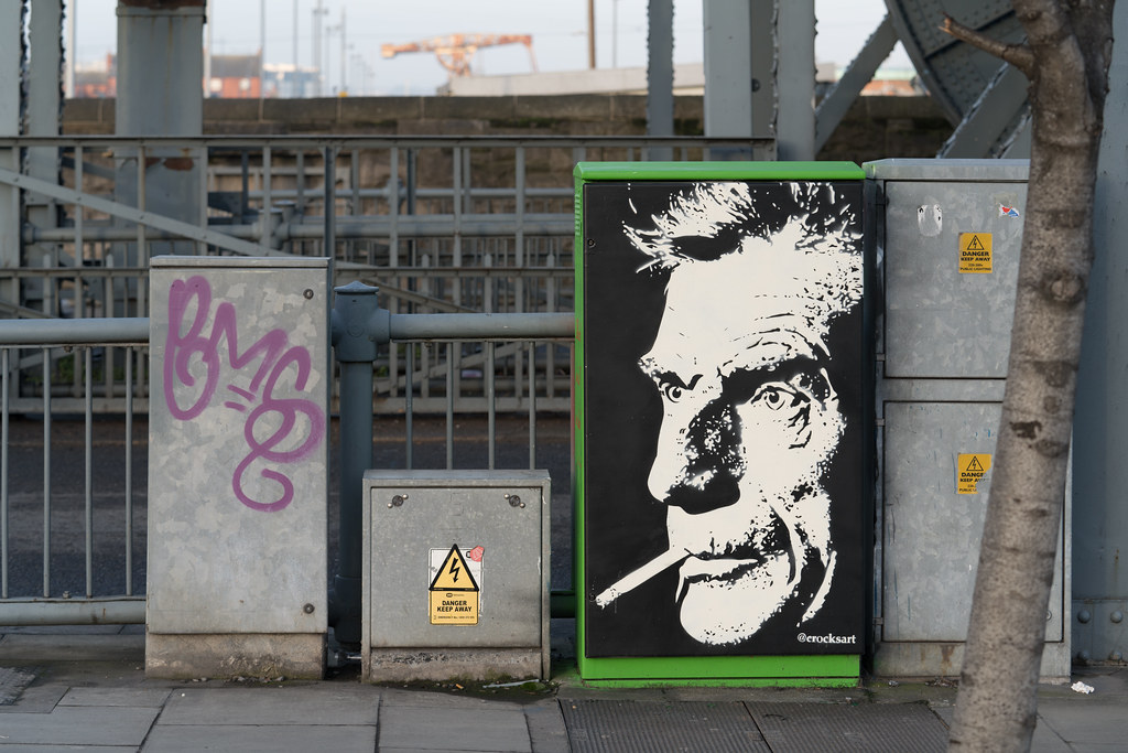 BECKETT - PAINT-A-BOX STREET ART BY CATHAL CRAUGHWELL  002