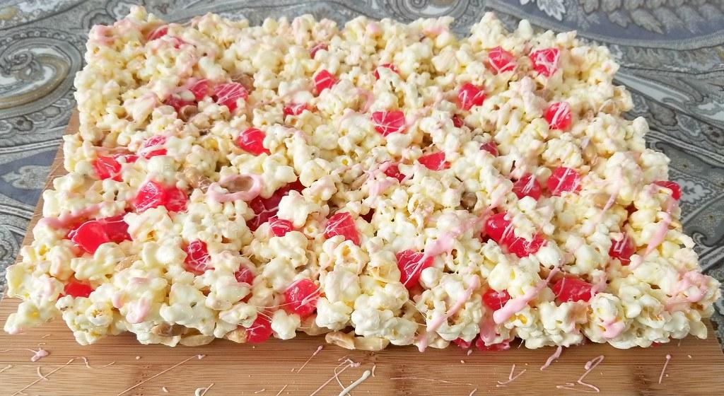 Valentine's Day Popcorn Cake