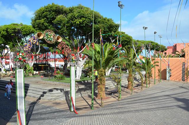 Main plaza, Garachico, Tenerife