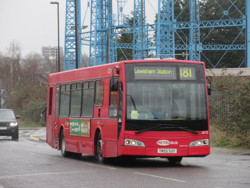 gal] metrobus 612 ym55sxf on route 181 at lower sydenham | flickr