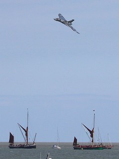 vulcan xh558 over the barges clacton 25-08-2014 | by sickbag_andy