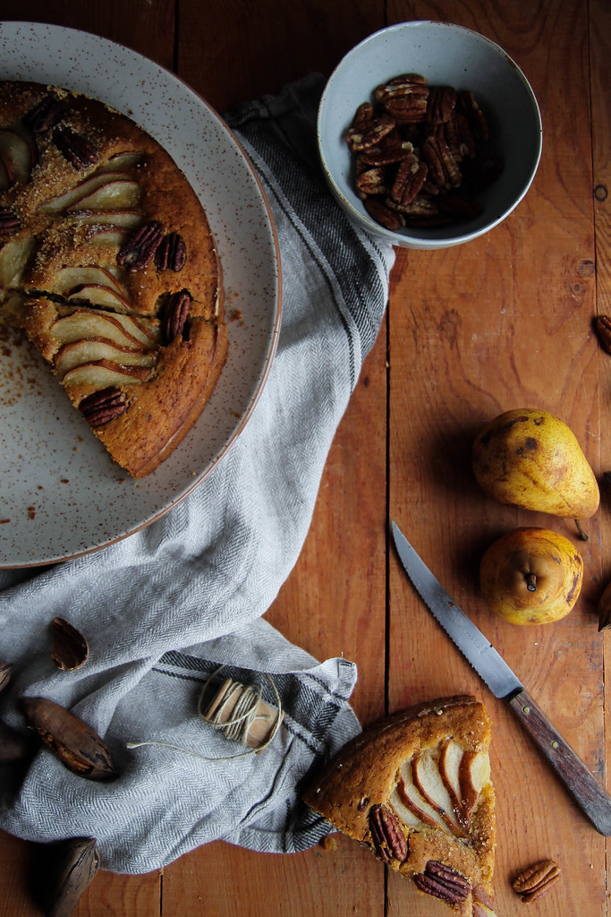 recette de Gâteau aux poires