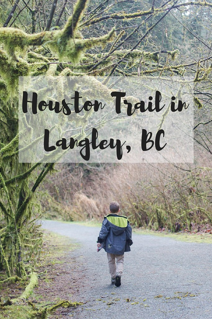 The one hour loop of Houston Trail in Fort Langley, BC. Great for geocachers!