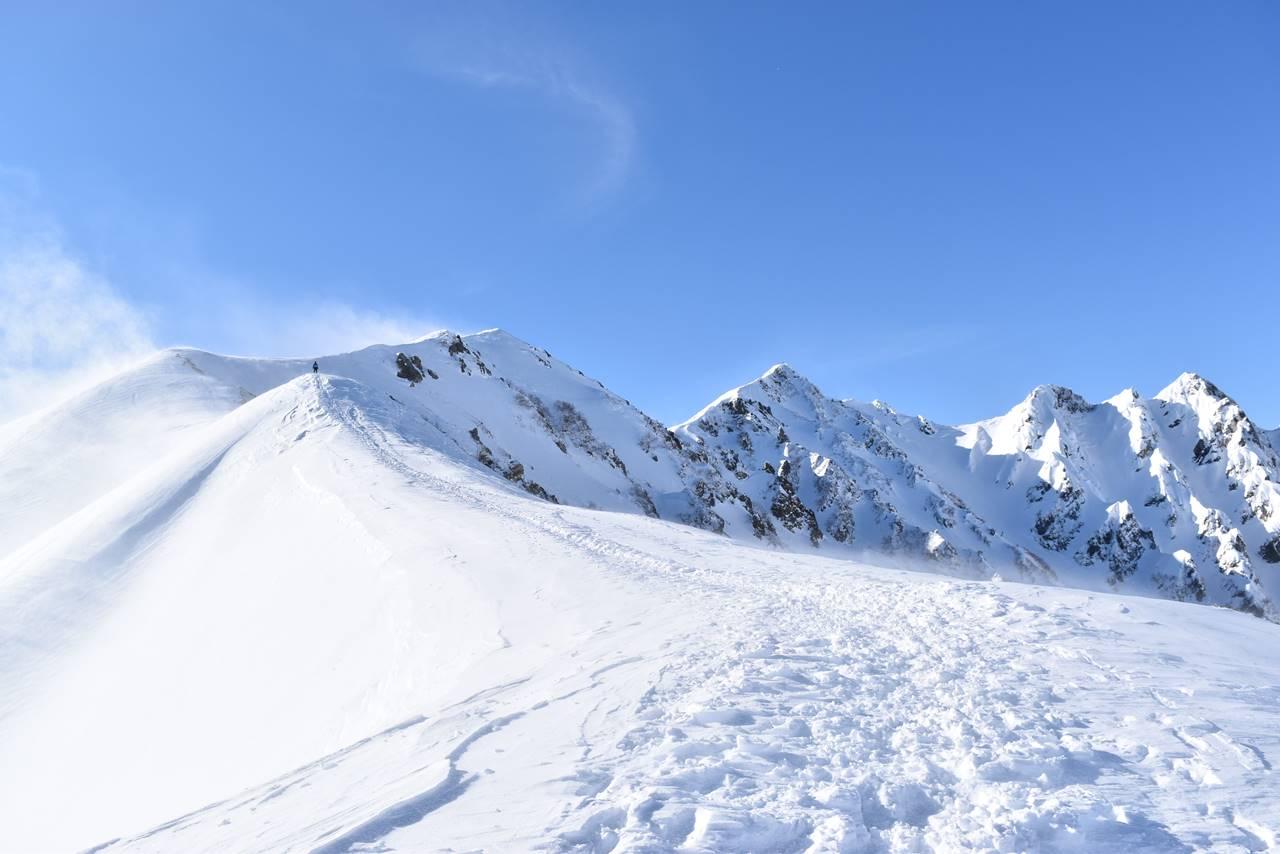 冬の北アルプス・唐松岳登山(八方尾根)