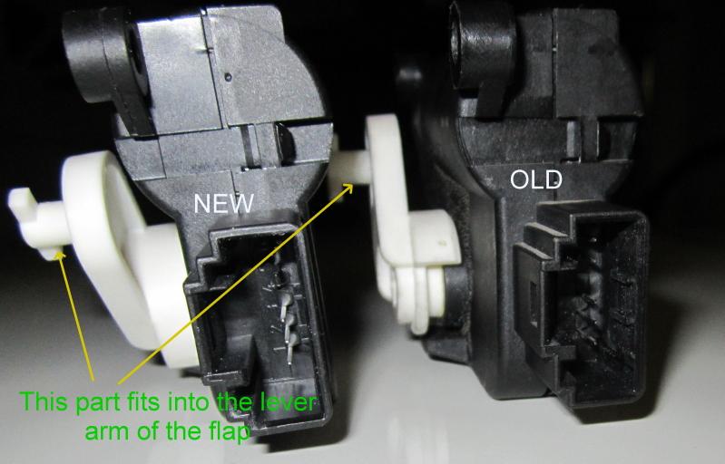 Vwvortex Com Diy 01809 Actuating Motor For