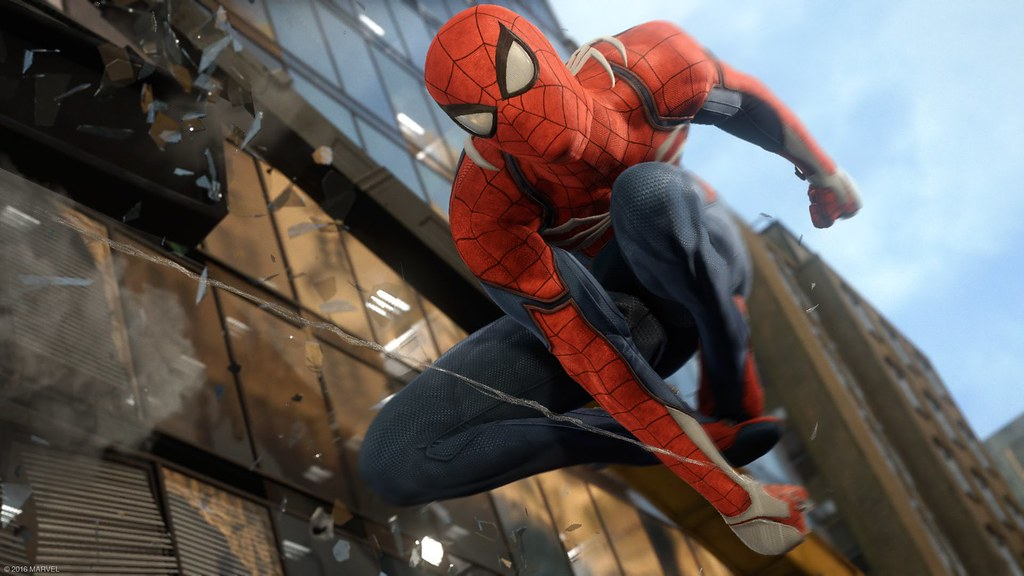 Image result for marvels spiderman ps4