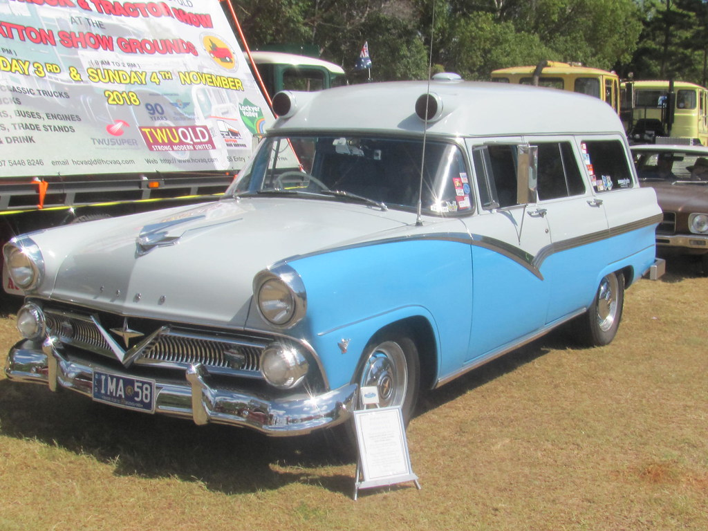 1958 Ford Ex-Ambulance | Classic Cars Australia | Flickr