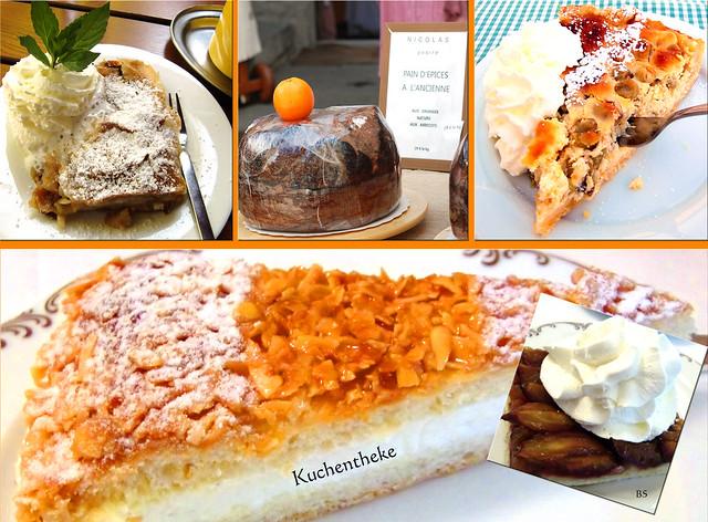 Kuchen Kuchentheke Apfelstrudel Stachelbeerkuchen Bienenstich Gewürzkuchen ... Brigitte Stolle