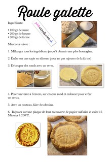 Roule galette (recette) | by pinkcappuccino