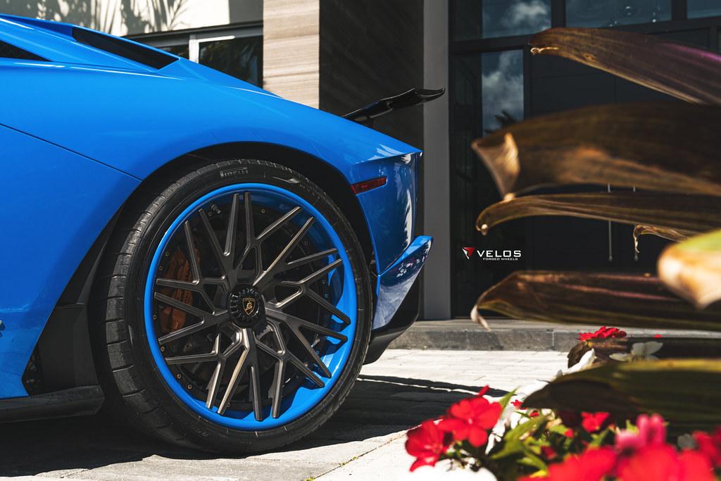 lamborghini aventador s 1016 industries velos wheels mc customs. Black Bedroom Furniture Sets. Home Design Ideas