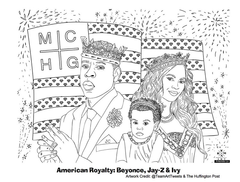 20 Black History Month Printable Coloring Pages | iColoring.best | 605x800