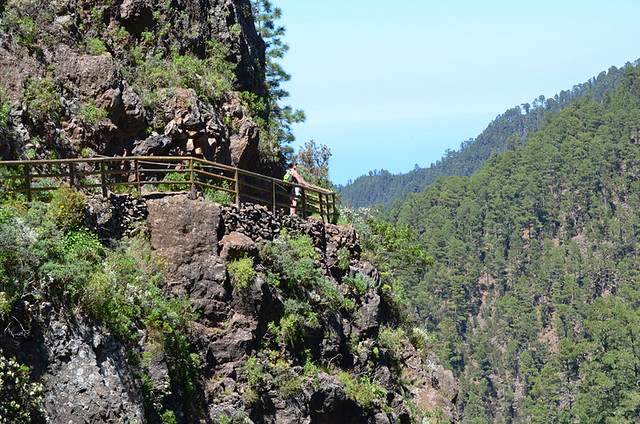 Viewpoint and barrier, Orotava Valley, Tenerife