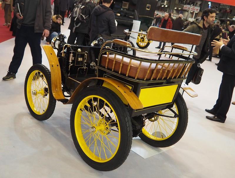 Renault Type A 1898 , la première Renault ????? 40436894242_6fc59c6b46_c