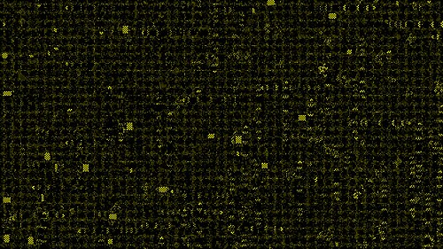 Alternating Neighborhoods Cellular Automaton