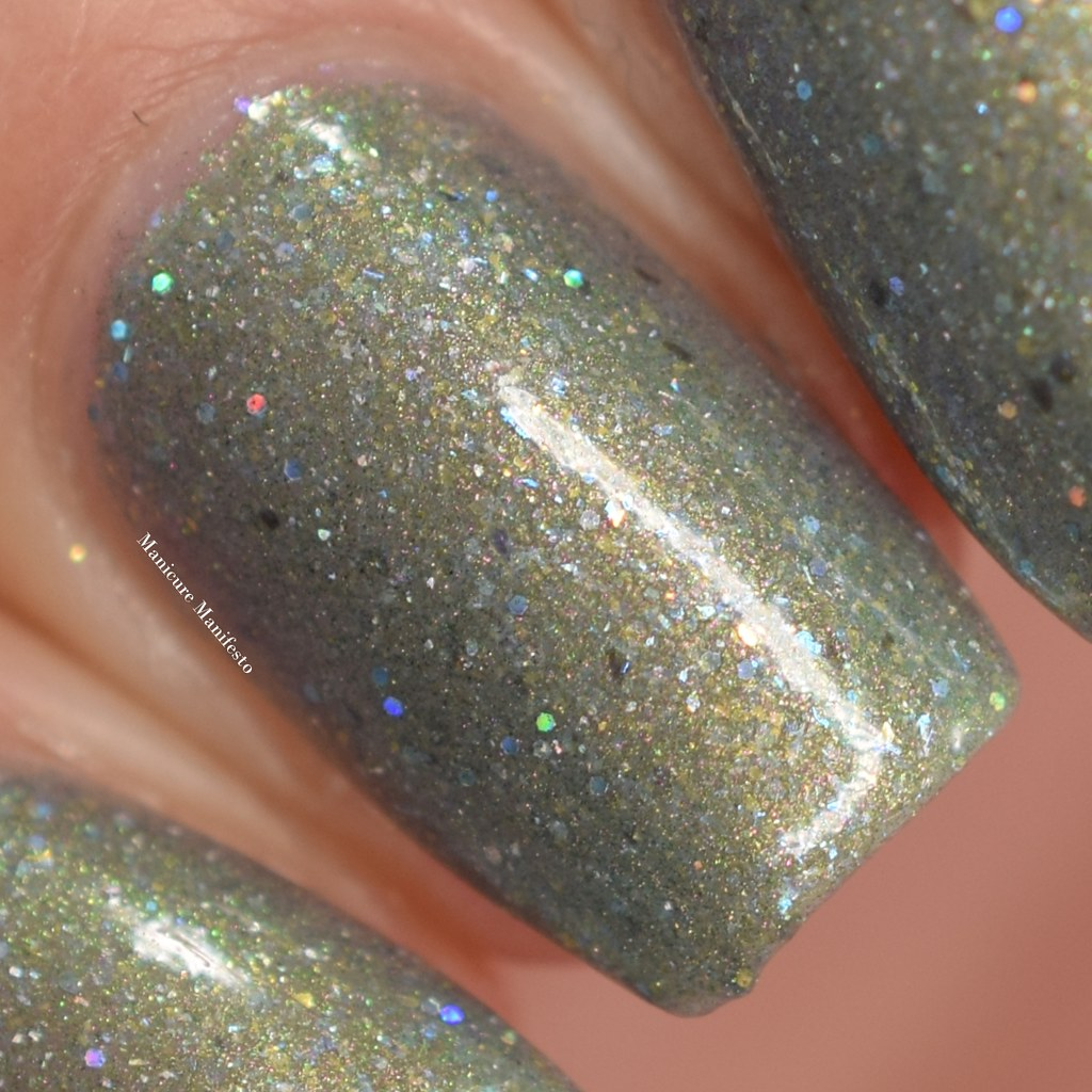 Girly Bits Act Your Sage swatch