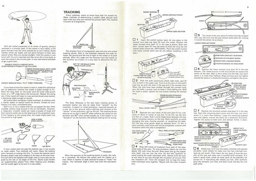 Estes Challenger-1 (1416) Starter Set Instructions (as printed) Pgs. 5 & 12 | by Model Rockets Rock!