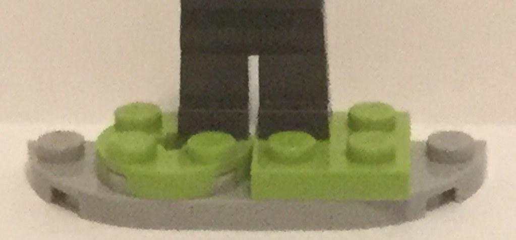 Lego Custom Number 15 Burger King Foot Lettuce