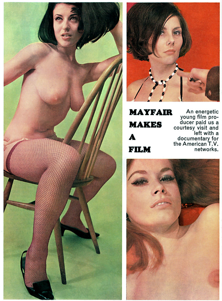 Mayfair magazine big tits vintage erotica