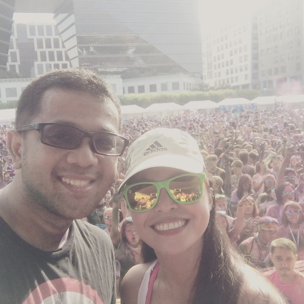 Congrats Justine for another well organized Color Manila Run.
