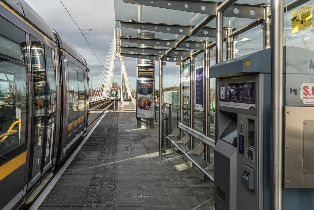 DUNDRUM TRAM STOP - JANUARY 2018 003