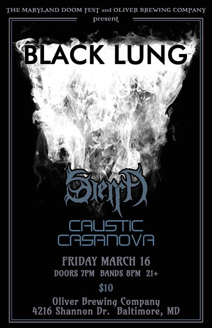 Black Lung at Oliver Brewing