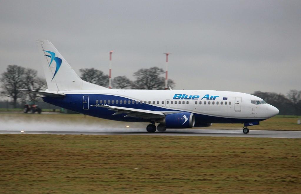 What Is Air Bag >> YR-BAG Boeing 737-5L9 Blue Air | YR-BAG Boeing 737-5L9 Blue … | Flickr