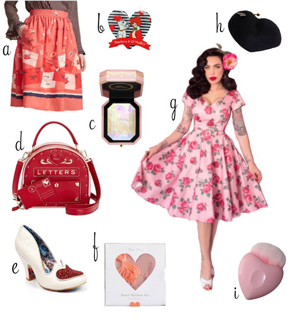 The Soubrette Brunette: Valentine's Day Wishlist