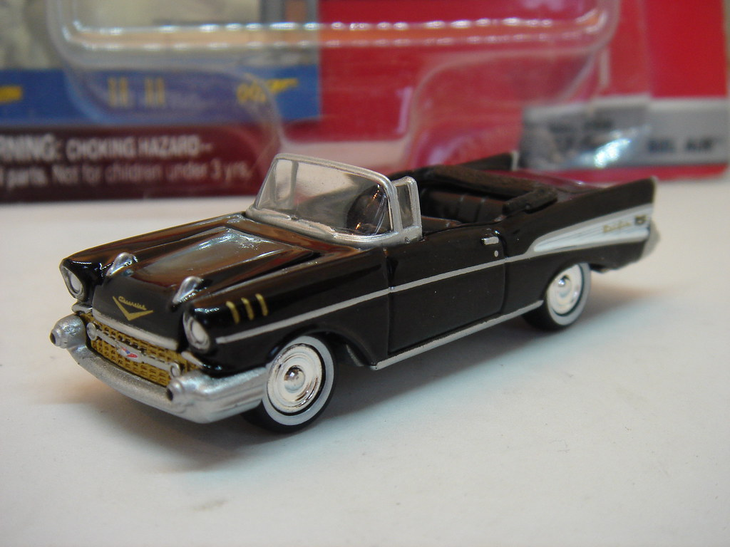 Johnny Lightning 1957 Chevrolet Bel Air Convertible 1 64 Flickr Chevy Bellaire By Ambassador84 Over 11 Million