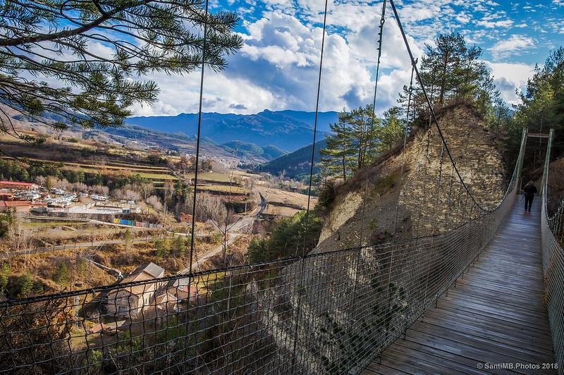 Puente colgante de la Vía del Nicolau