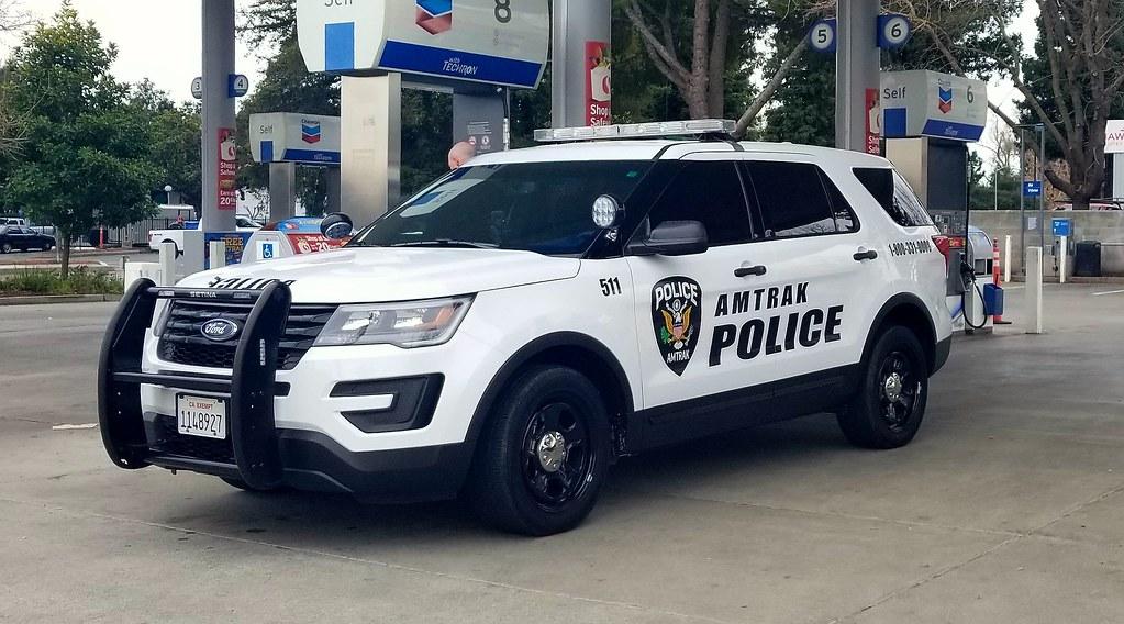 Amtrak Police Ford Interceptor Utility | Caleb Owen | Flickr