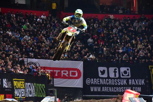 Thomas Ramette, Pro, Arenacross Tour, Manchester 2018