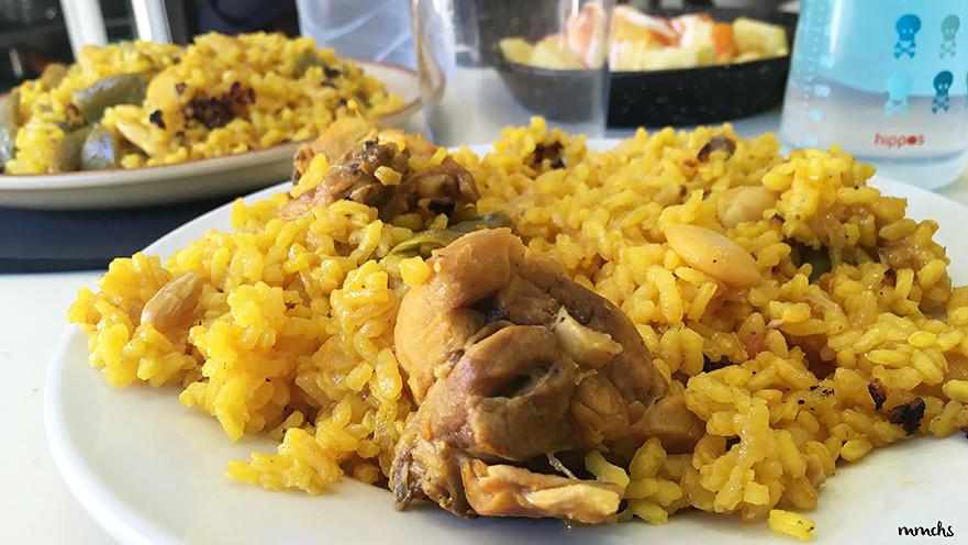 paella Valenciana en Llombai