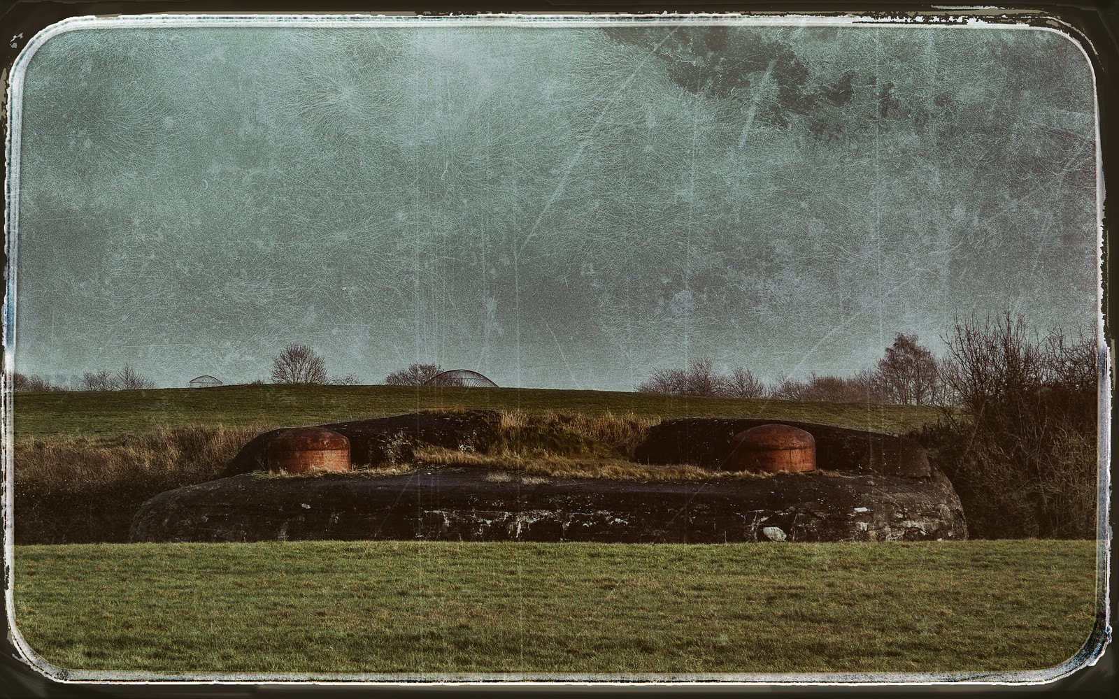 the one and only  documented image of the landing zone of extraterrestrial flying objects in Belgium   by glasseyes view