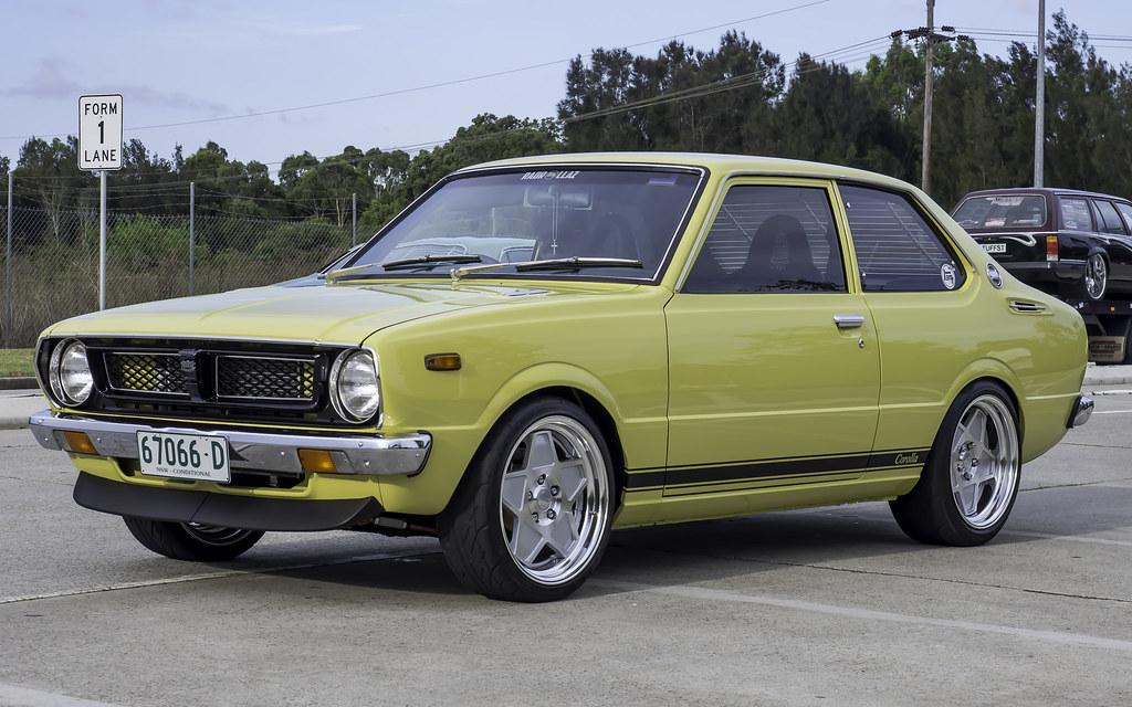 1975 Toyota Corolla Ke30 2 Door Sedan Harry S Cafe De