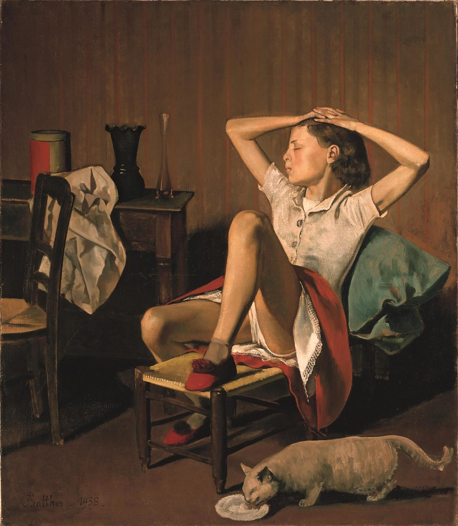 Balthus, Thérese Dreaming, 1938.