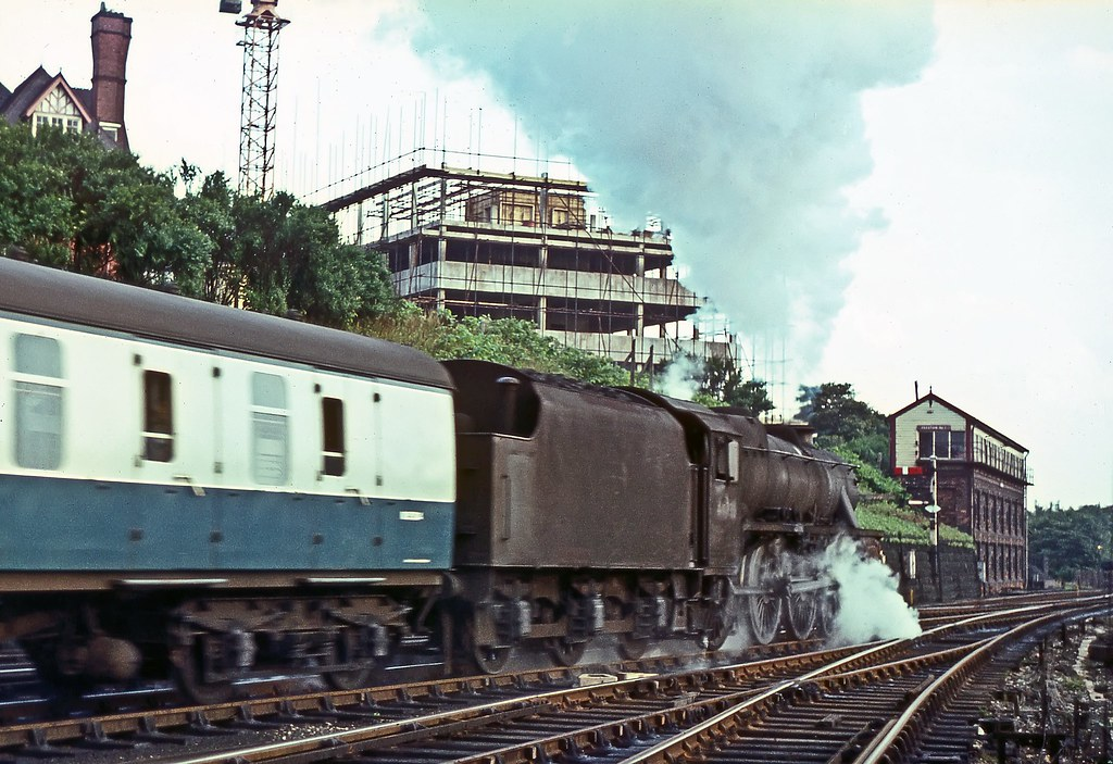 ... Rostance 44736, Preston, August 1967   by David Rostance
