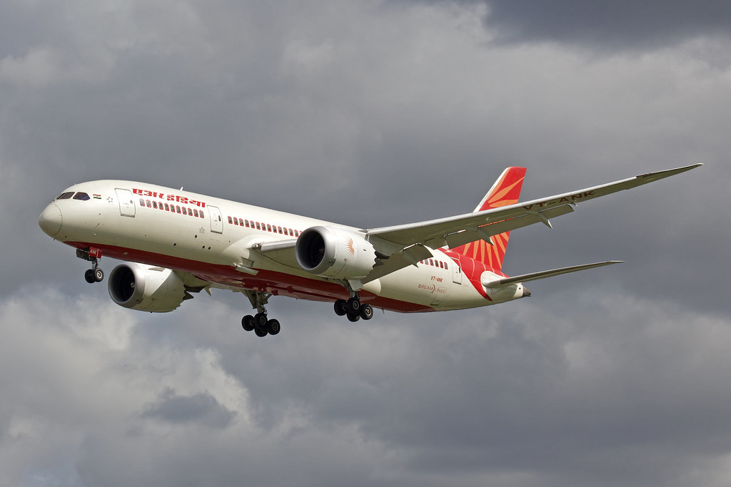 Bildresultat för air india boeing 787