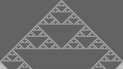 Two Steps Back Cellular Automaton