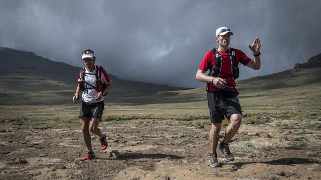 Οι Ryan Sandes & Ryno Griesel στην πετυχημένη προσπάθεια τους το 2014 για FKT στο Drakensberg Grand Traverse!