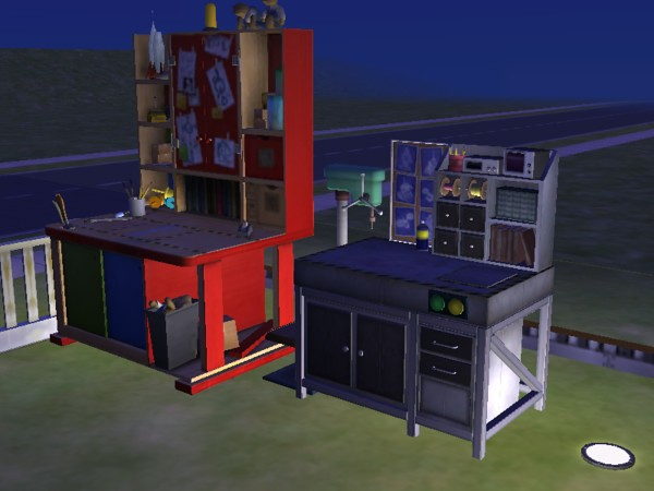 The Sims 2 Open For Business Toys Robots Machine Oyuncak Robot Makinesi