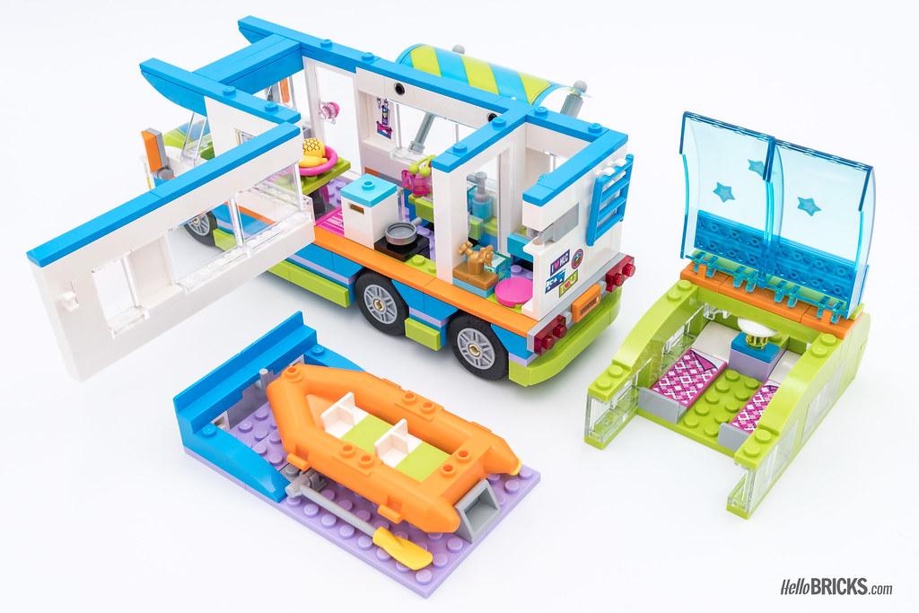 REVIEW LEGO Friends 2018 - LEGO 41339 Mia's Camper Van 2 | Flickr