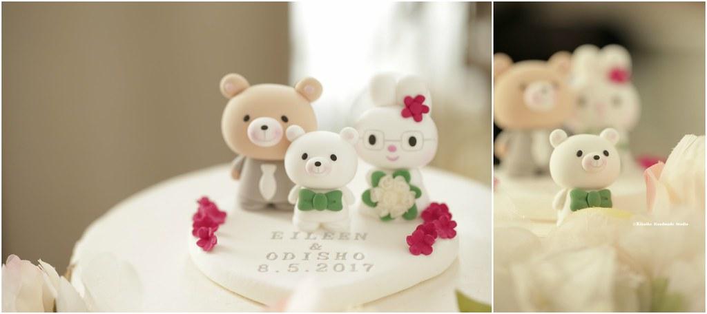 Love Rabbit And Bear Custom Wedding Cake Topper Cute Anim Flickr